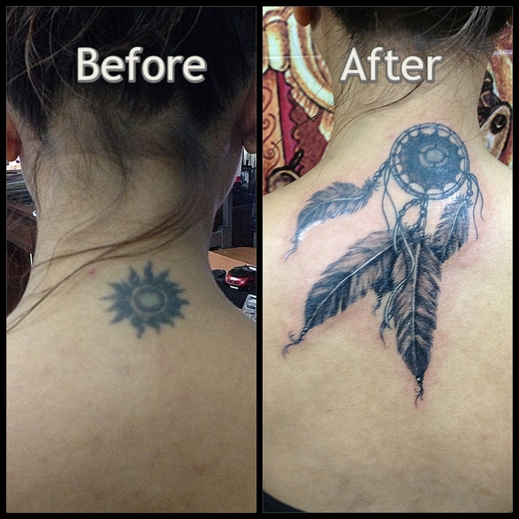 Eka Waves Tattoo Work