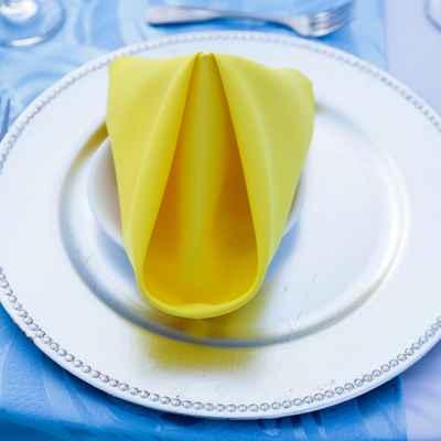 Blue overseas wedding reception decor