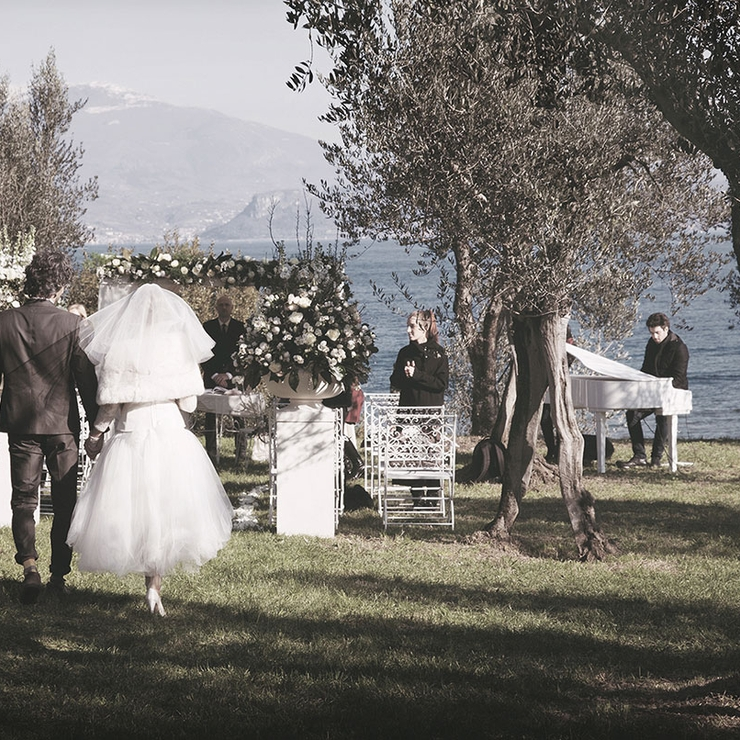 Vintage wedding in Sirmione - Lake Garda, Italy