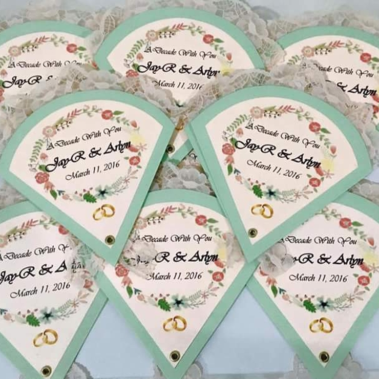 JayRlyn Wedding ♡ Fan-style Invites