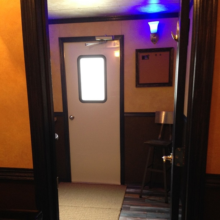 Swanky Parlor with Two Restrooms