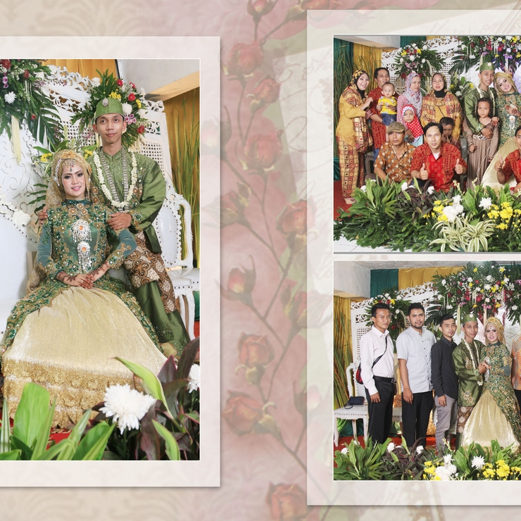 Indah & Burhan Wedding Day