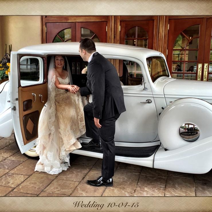 1935 Hudson Terraplane Bridal Car