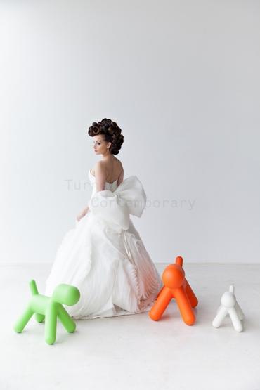European white long wedding dresses