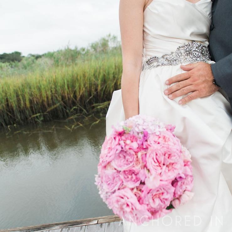 Ashley + Jon's Southport NC Wedding