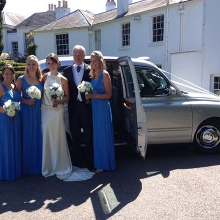 Modern Wedding Taxis