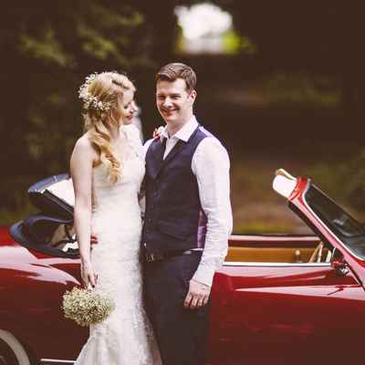 Vintage autumn white long wedding dresses
