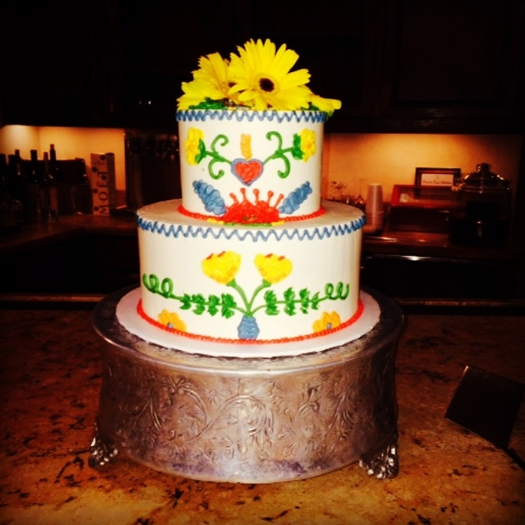 Bride's Cakes