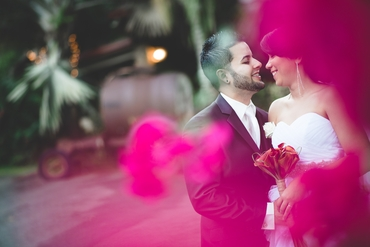 Pink real weddings