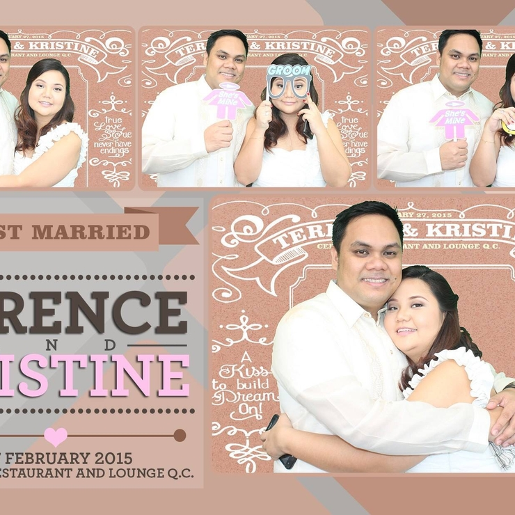 Terence & Kristine's wedding