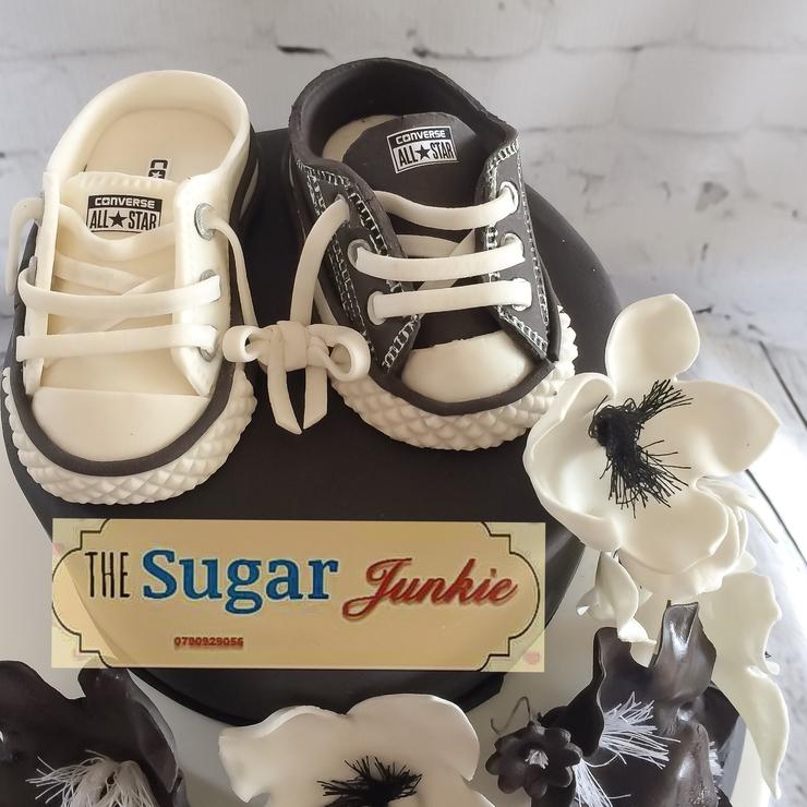 Wedding cake- Black & White