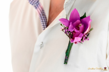 Pink buttonhole