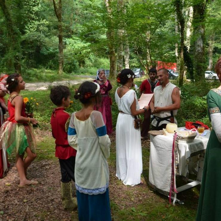 Celtic wedding ceremony - Druidism