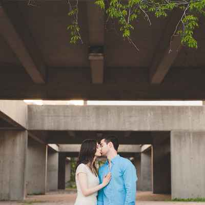 Outdoor summer wedding photo session ideas