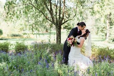 Summer long wedding dresses