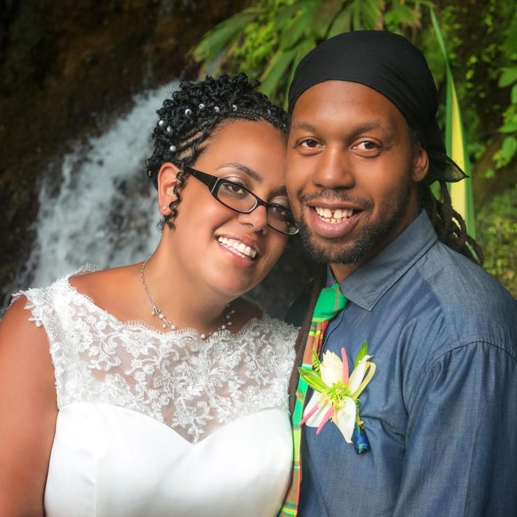Sue and Lex - Uganda meets Caribbean Waterfall Ecstasy