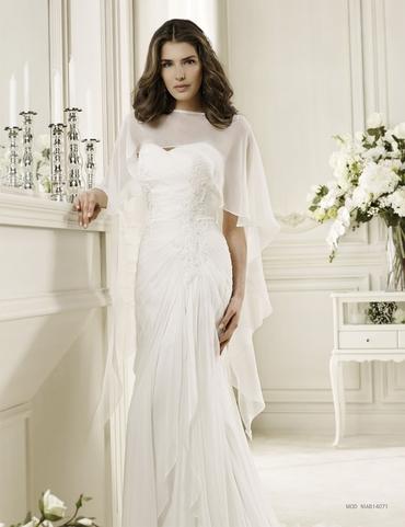 Mediterranean corset wedding dresses