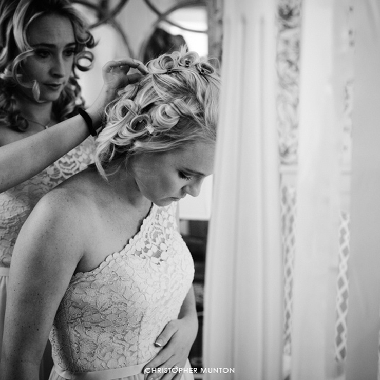 Bridesmaid's Makeup- Sian & Keygan's wedding