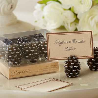 Rustic winter wedding signs