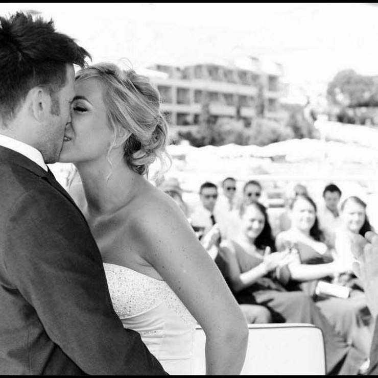 Emma's Algarve beach wedding