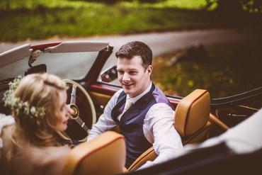 Vintage groom style