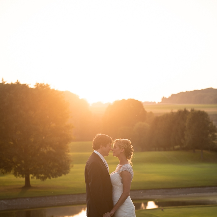 Abby + Wes Country Club Wedding