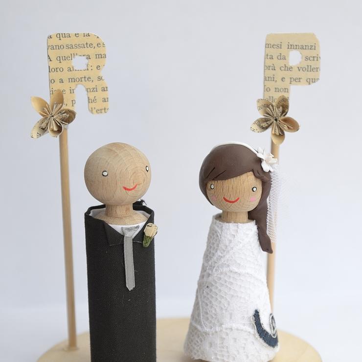 Paper wedding, literature inspired!