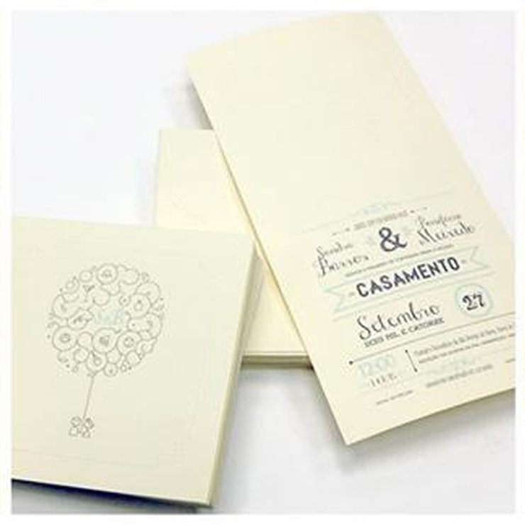 Sandra and Bonifácio's Wedding Stationary
