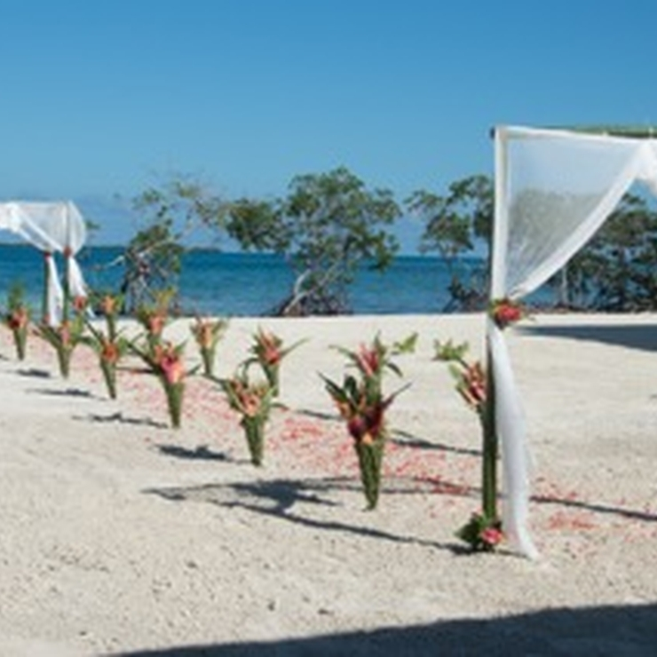 Destination Weddings on our Private Island