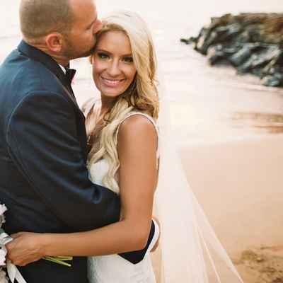 Beach wedding photo session ideas