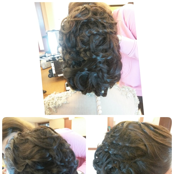 hair do for lina wedding