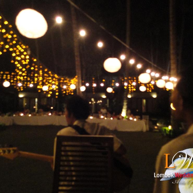 Wedding Reception In Lombok