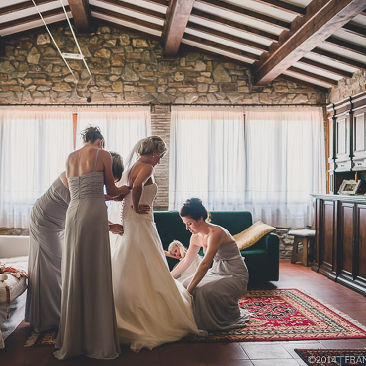 Fiona and Hamish's wedding