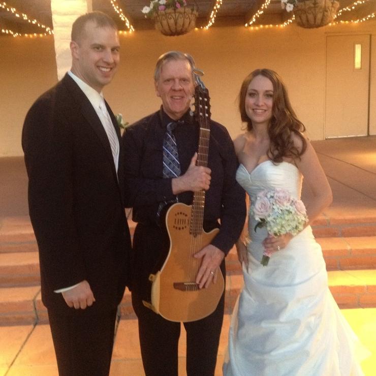 Roger Paull Wedding Guitar & Ukulele