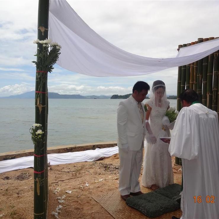 Fred & Linda's wedding