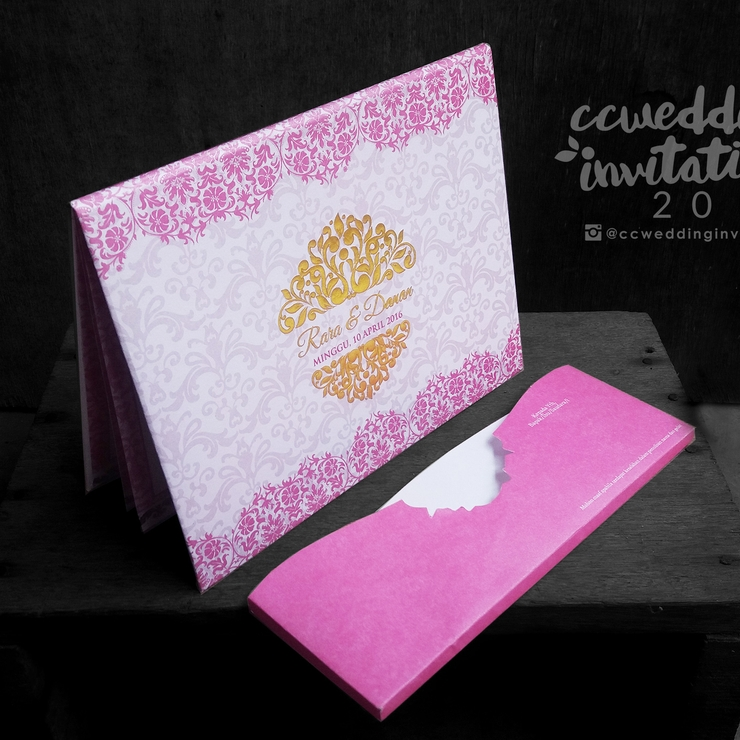 Exclusive Hardcover Invitation Card