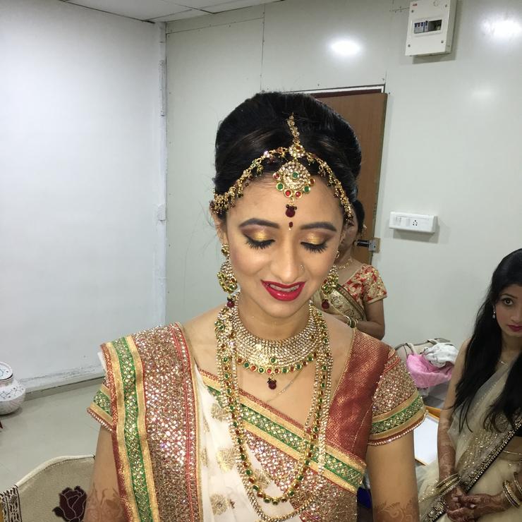 Dwani' wedding reception and sangeet