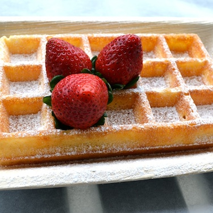 Authentic Belgian waffles