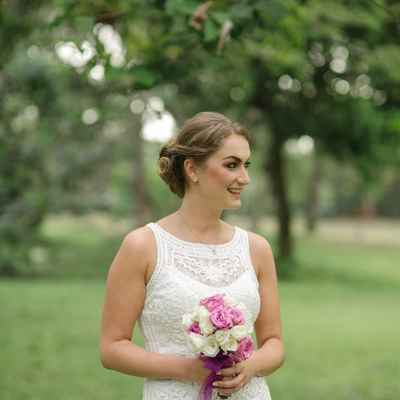 White short wedding dresses
