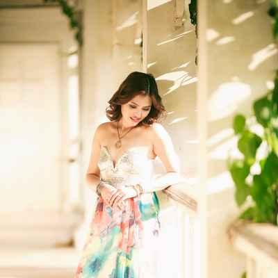 Blue wedding photo session ideas