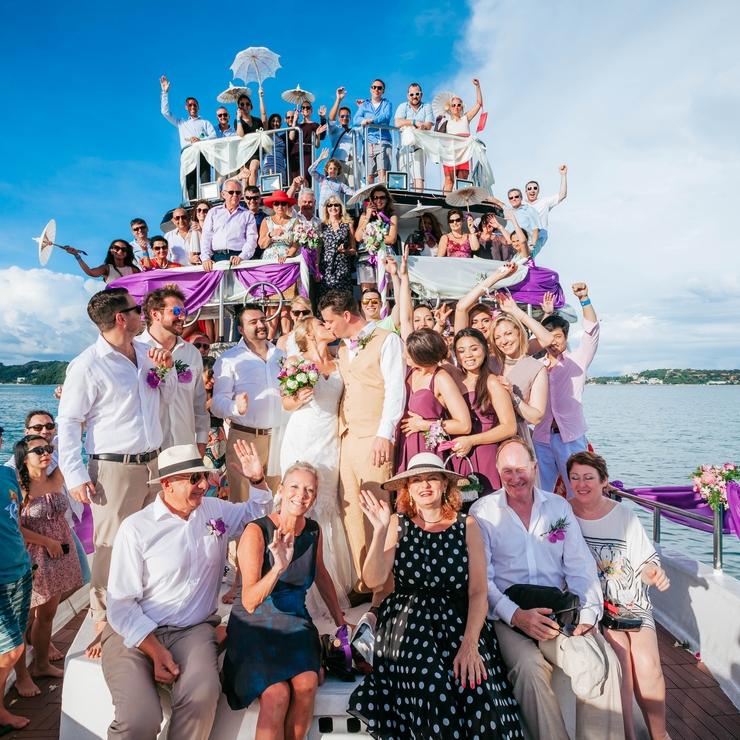 Luxury Yacht Wedding