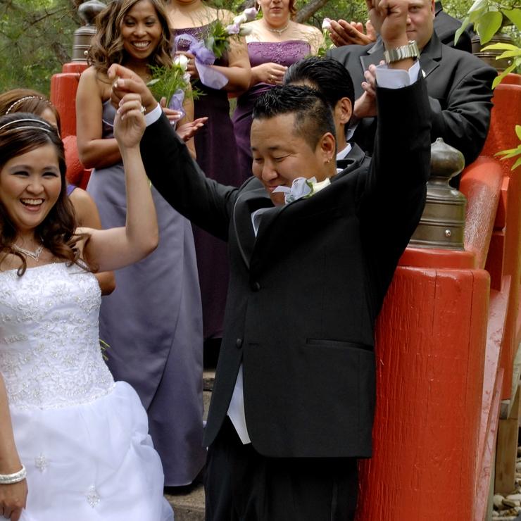 KIP AND DAVE WEDDING