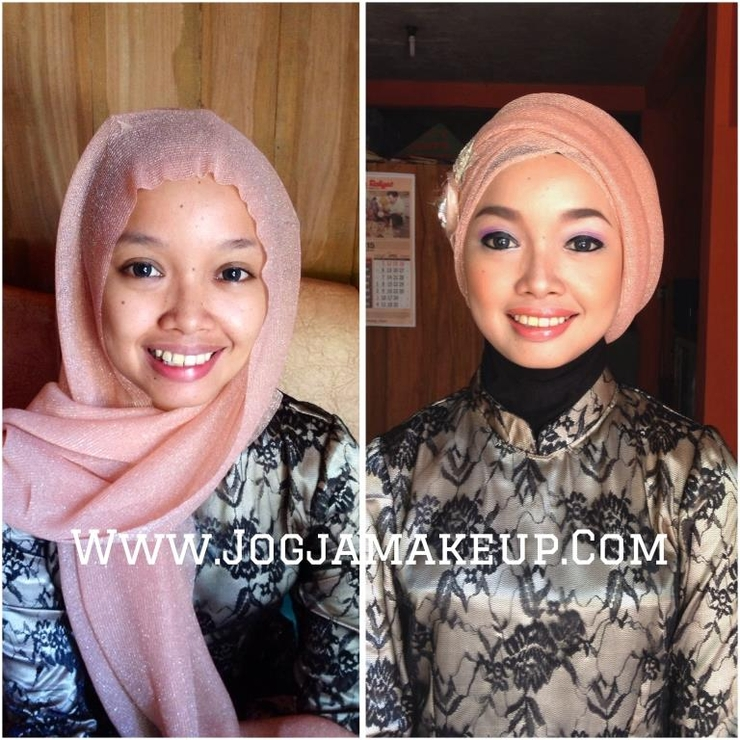 Makeup & Hijab style for Bridesmaid
