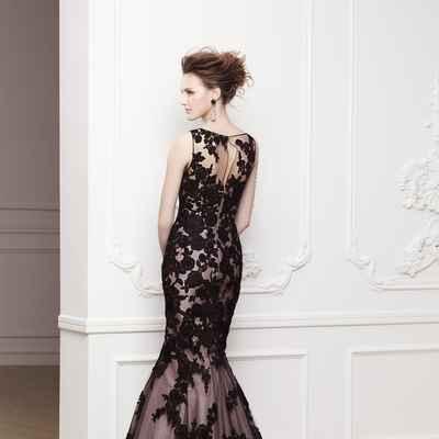 Black bridal style