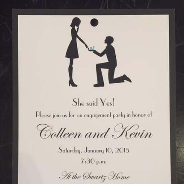 Wedding-related Party Invites