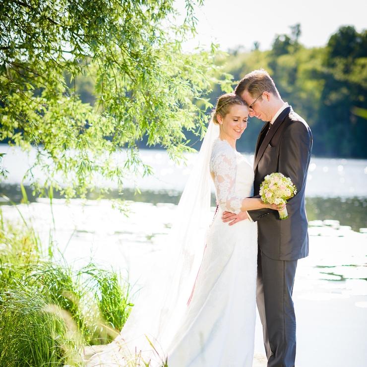 Die Hochzeit am See.