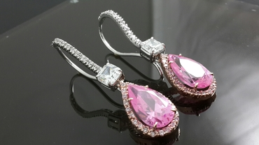 Pink bracelets, earrings, necklaces & other jewellery