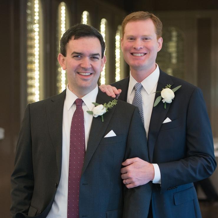 Mark and Chris