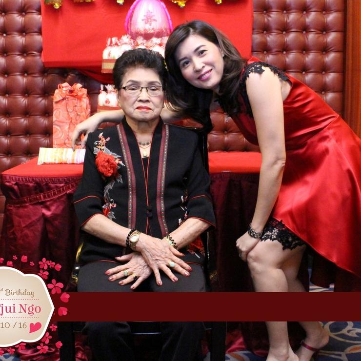 Oma Tjoa Tjui Ngo's Birthday