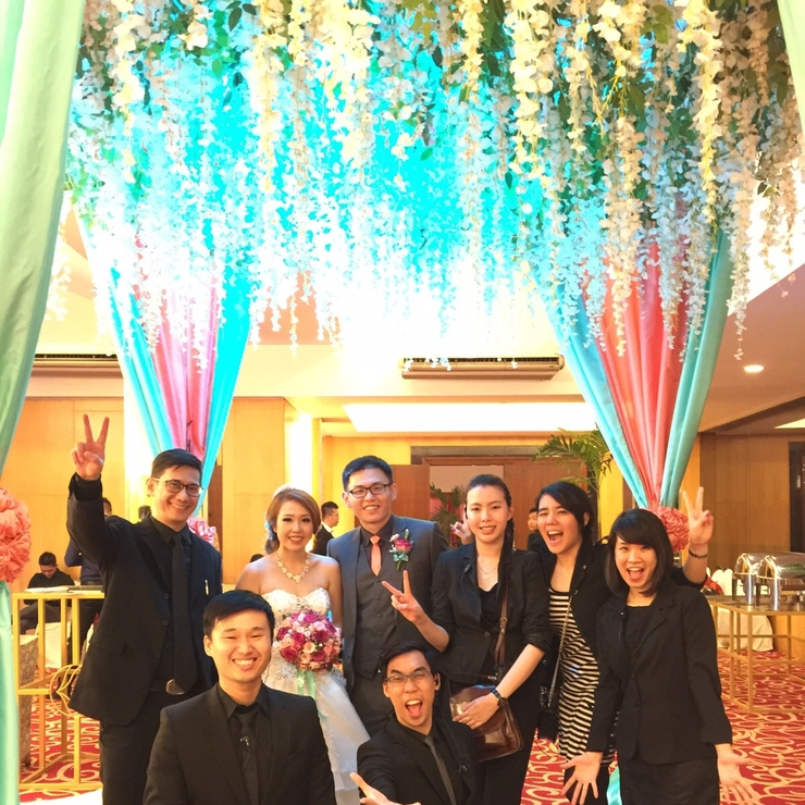 Tommy and Delia Wedding 17 - 18 Oct'15